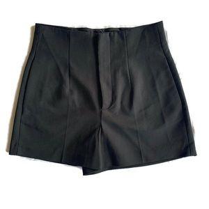 ZARA Tailored Black Shorts